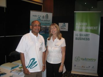 Imam and Pamela at last year's expo
